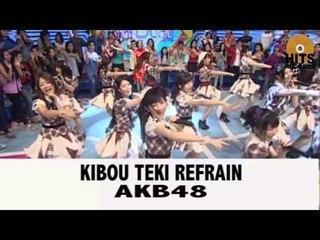 AKB48 - Kibouteki Refrain [Live DahSyat Musik]