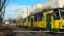 Miskolc: az 1-es villamos meghosszabbítása / Extension of tram line 1 of Miskolc