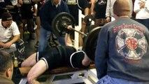 Powerlifting Meet Results: 360 lbs Pause Bench Press/640 lbs Deadlift! (190 lb b/w)