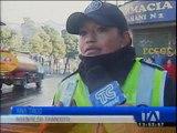 Hoy se registraron dos accidentes de tránsito en la Capital