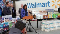 NY Gov. Andrew Cuomo and NJ Gov. Chris Christie Thank Walmart for Hurricane Sandy Response
