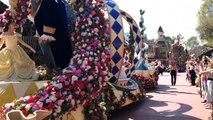 Anna, Elsa, Olaf on Frozen Float - New Festival of Fantasy Parade Walt Disney World