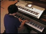 Asaf Avidan & The Mojos Wankelmut - One Day Reckoning Song piano & keyboard synth cover by LiveDjFlo