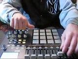 akai mpd 32 hip - hop beat beatmaker Supa Orland 30.03.12