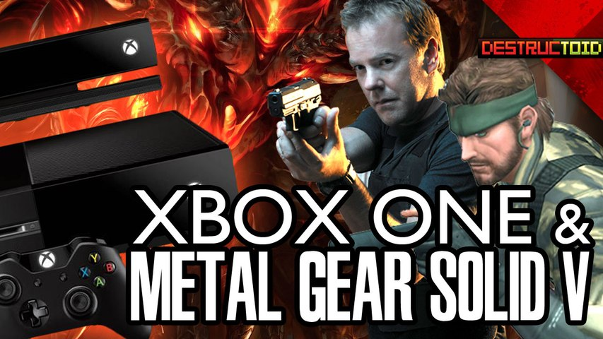 Titanfall FPS LEAKED! Kiefer Sutherland IN MGS V, Xbox One USED GAMES, & More!