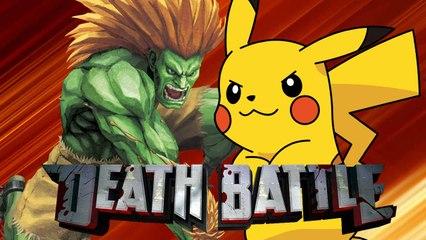 DEATH BATTLE! - Pikachu Vs. Blanka