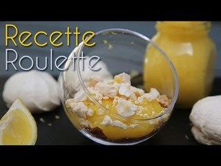 Verrines type tarte au citron