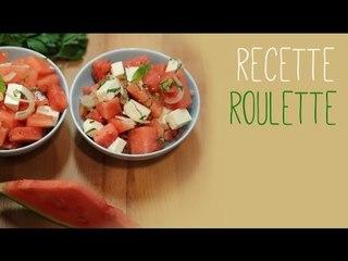 Salade pastèque et feta !