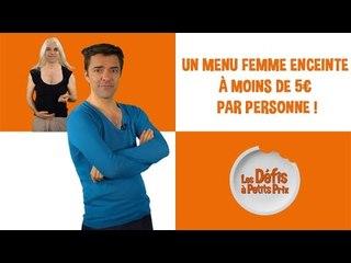 Menu femme enceinte à 5 € par personne - Défis à Petits Prix