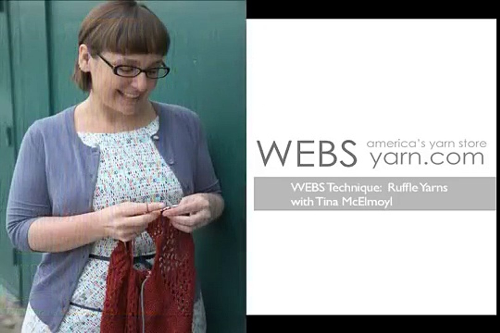 How to Knit Railroad-style Ruffle Yarns