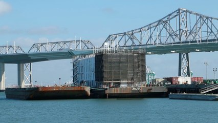 What's on This Google Mystery Barge?