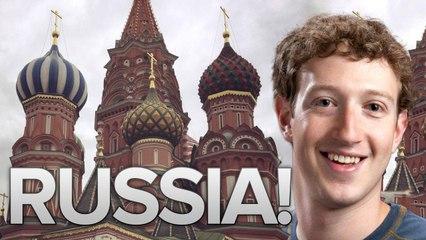 Facebook CEO Mark Zuckerberg Visits Russia