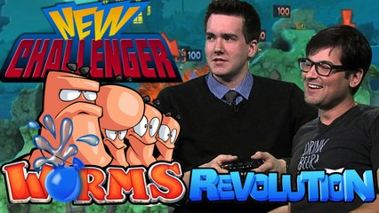 Worms Revolution Deathmatch with Max Scoville!