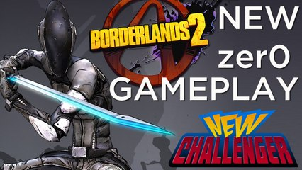 Borderlands 2- 20 Minutes of NEW GAMEPLAY with Zer0!