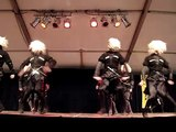Singing and dancing ensemble 'KOLKHA', dance with knifes