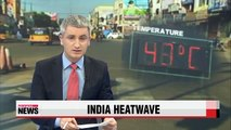 India heatwave: at least 1,000 dead as temperatures soar