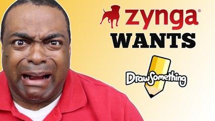 Draw Something Bought by Zynga?! Noooo!