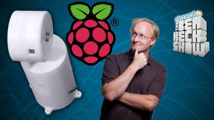 Ben Heck's Raspberry Pi Shop Cam