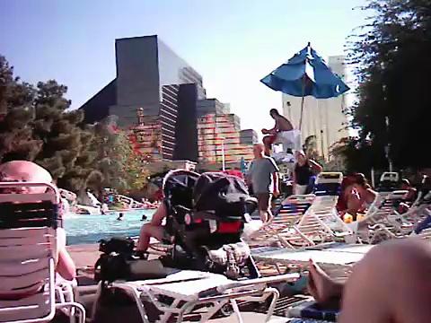 Drunk in a Vegas Hot Tub