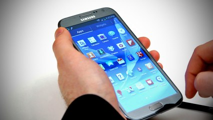 Samsung Galaxy Note 2: Unboxing
