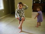 Black Eyed Peas Boom Boom Pow Funny Kids Dance