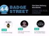 Badges, Buttons, Pins, Pinback Buttons
