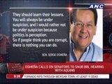 Rodriguez hits Senate BBL critics
