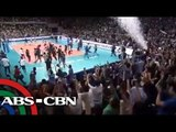 Ateneo Lady Eagles' championship point