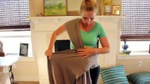 Boba Wrap Classic Baby Carrier - HOW TO Use/Tie and Review
