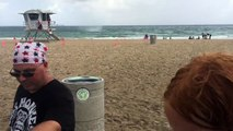 Caught on Camera_ Waterspout Overturns Bounce House on Fort Lauderdale Beach