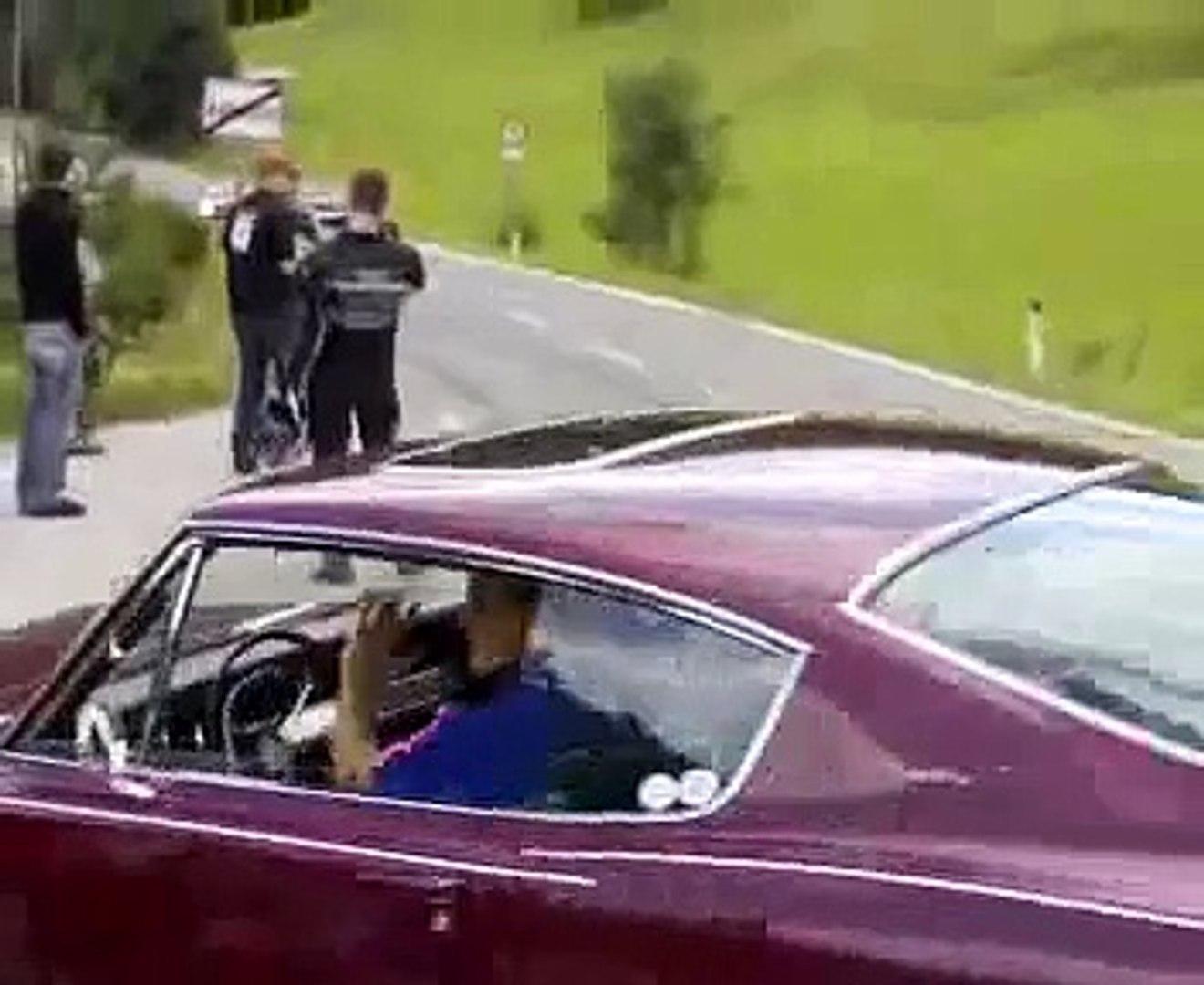 Austrian Mopar Nats Burnout