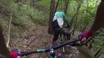 Max et Alex au Serlin Trail pour le Ride avec Thomas Genon
