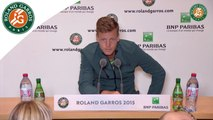 Conférence de presse Tomas Berdych Roland-Garros 2015 / 2ème Tour