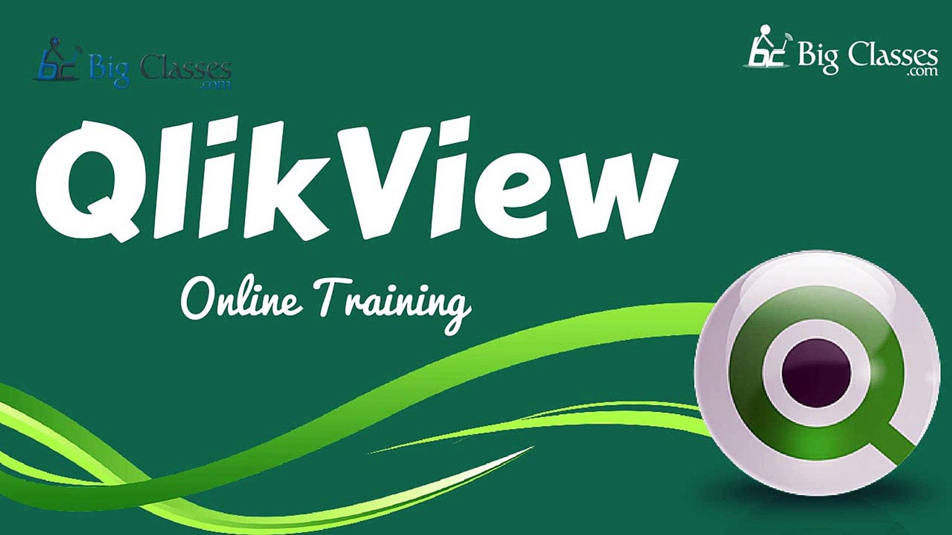 Qlikview Online Training | Qlikview Training Videos