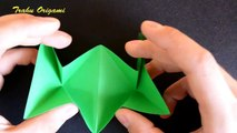 How To Make a Paper Jumping Frog FAR & HIGHT▲ Origami Jumping Frog