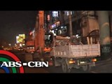 Heavy traffic expected with weekend road reblocking