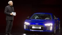 Audi R8 E Tron Piloted Driving Concept Unveiled At CES Asia 2015