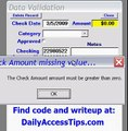 Microsoft Access validation of Access Data In Form Controls