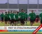 Sebastian Frey ve Renato Civelli Bursaspor da
