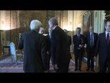 Roma - Incontro Presidente Mattarella con il Primo Ministro Algerino (27.05.15)