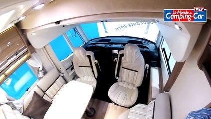 Visite en vidéo du camping-car Rapido 980 DF, un intégral à lit central sur soute