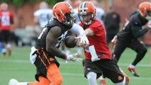 NFL Daily Blitz: Manziel working with Browns' second team
