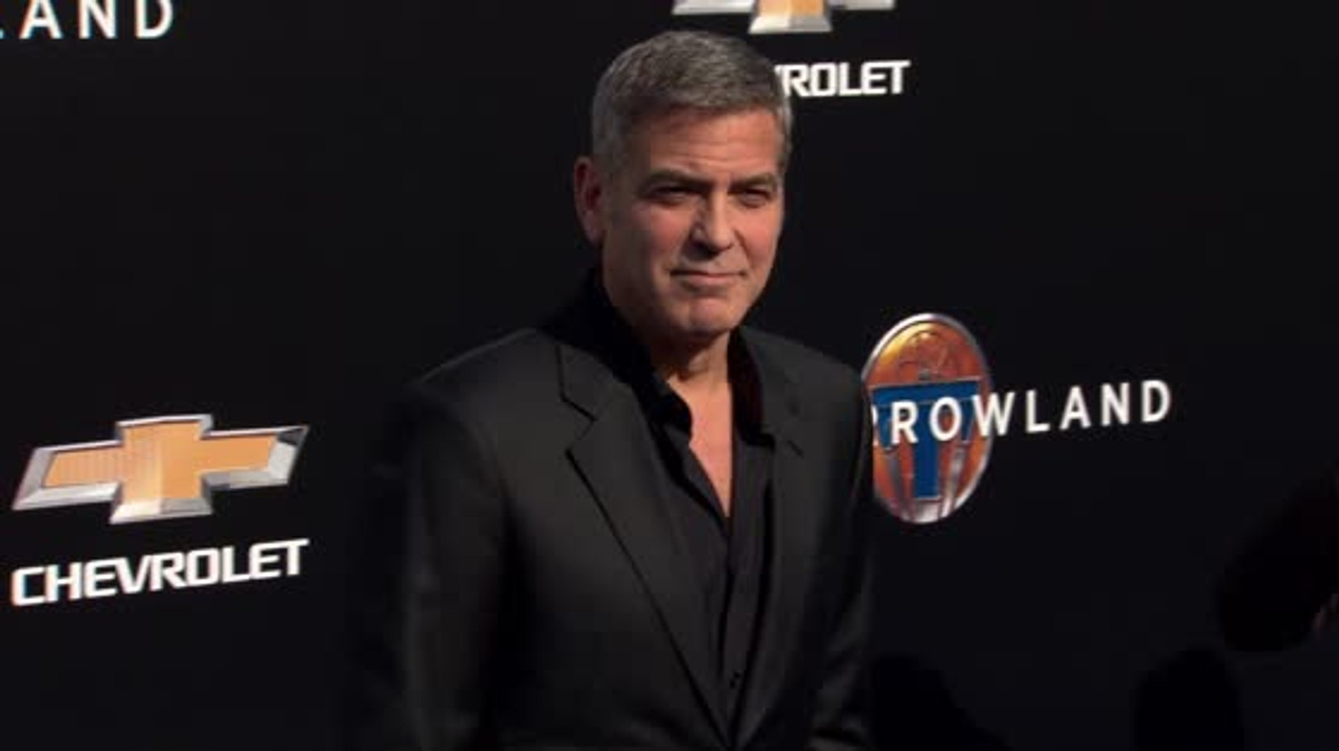 George Clooney Encourages Men to Embrace Growing Old