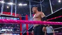 WWE John Cena - Dean Ambrose vs. Randy Orton, Seth Rollins - Kane - 3-on-2 Handicap Street Fight - 2015