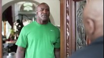 Mike Tyson finally gives Evander Holyfield his ear back