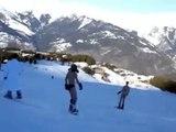 Speedo Skiing in Courchevel