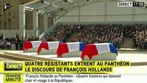 """François Hollande: """"L'Histoire nous transmet la responsabilité d'être à la hauteur du passé"""""""