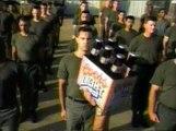 Publicité américaine pour de la bière
