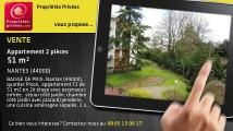 A vendre - appartement - NANTES (44000) - 2 pièces - 51m²