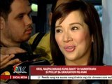 Kris denies dating Diether